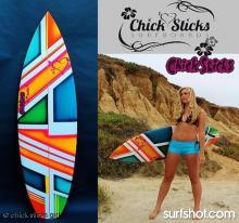 Chick Sticks Little Screamer Performance Thruster.  Find it at www.chicksticksbylola.com