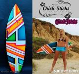 Chick Sticks Little Screamer Performance Thruster.  Find it at www.chicksticksbylola.com