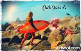 Sun Kissed Beach Bum and Chick Sticks the Girls Only Brand
