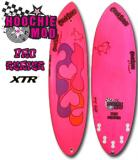 Chick Sticks Pro Series Stringerless Epoxy XTR.  Hoochie Mod 5 fin option performance hybrid egg. 