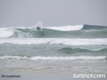 Some nice long lefts comming in.