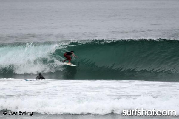 Ponto surf session by surf photographer Joe Ewing