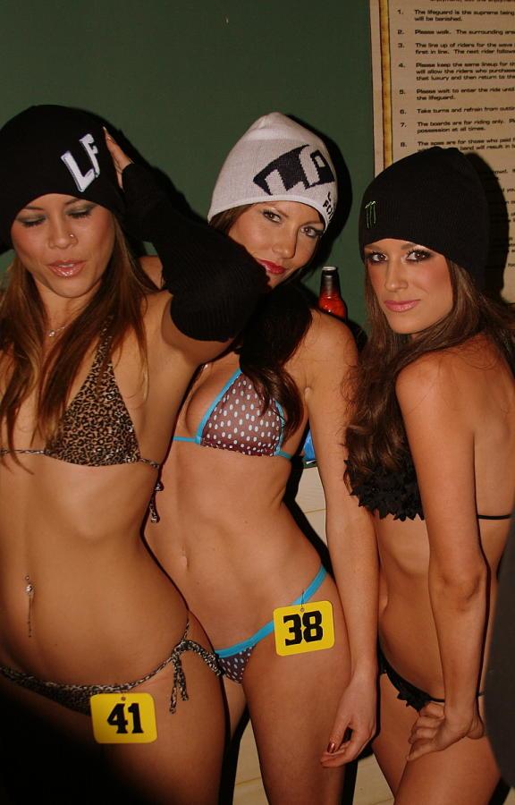 Bikinis and beanies