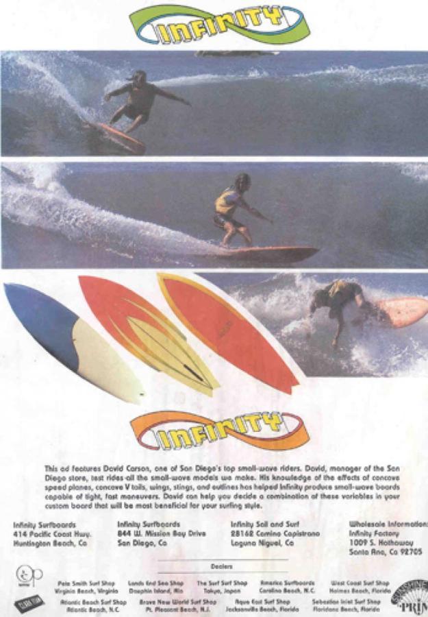 Vintage Infinity Surf Ads Surf Photos Surfshot
